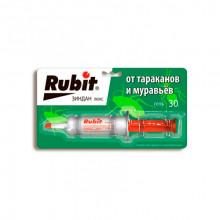 Rubit зиндан люкс шприц гель от тараканов и муравьёв 30 г