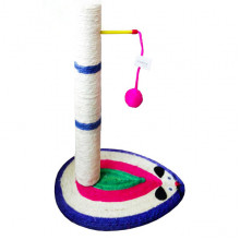 Когтеточка-столбик Мышка с шариком 8-19 40*30*40 см