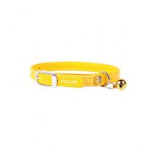 Ошейник Collar Glamour для котят 9 мм 17-20 см желтый 32758 - ОШЕЙНИКИ, АМУНИЦИЯ