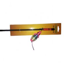 Игрушка для кошек удочка с разноцветной мышкой 47 см 288 3015-NTC
