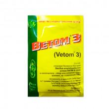 Ветом 3 Vetom 3 пробиотик для животных 50 г НПФ Исследовательский центр Россия - БИОПРЕПАРАТЫ