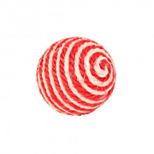 Когтеточка мячик из сизаля 6,5 см FOX NT285