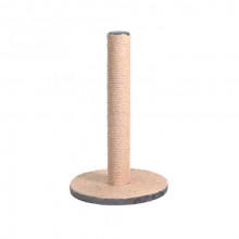 Когтеточка столбик на подставке джут 24*45 см FOX S819-1