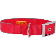 Ошейник нейлоновый Dog Extreme светоотражающая вставка красный 40 мм 60-72см COLLAR64543 - ОШЕЙНИКИ, АМУНИЦИЯ