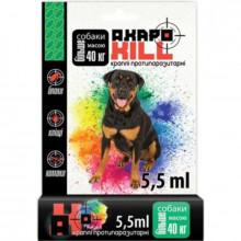 АкароКилл №1 от 10 до 40 кг капли противопаразитарные для собак УЗВПП - ИНСЕКТОАКАРИЦИДНЫЕ КАПЛИ