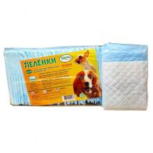 Пеленки ПЕСиК собачек для туалета 60*60  см с увеличенной впитываемостью 20 шт в упаковке 37181L