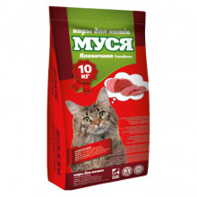 Корм для котов  МУСЯ со вкусом говядины O.L.KAR 10 кг 18322