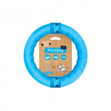 Игрушка для собак Кольцо для апортировки PitchDog 20 диаметр 20 см голубой 62373