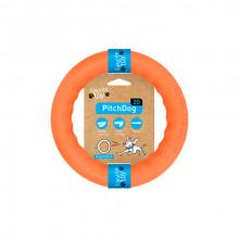 Игрушка для собак Кольцо для апортировки PitchDog 20 диаметр 20 см оранжевый 62374