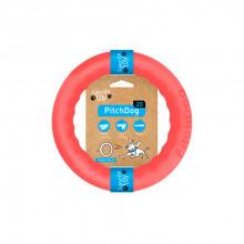Игрушка для собак Кольцо для апортировки PitchDog 20 диаметр 20 см розовый 62377