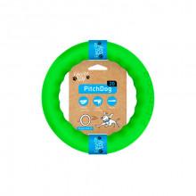 Игрушка для собак Кольцо для апортировки PitchDog 20 диаметр 20 см салатовый 62375