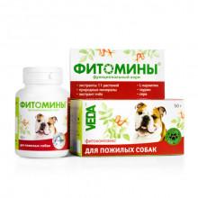 Фитомины для пожилых собак № 100 Веда