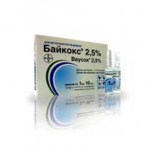 Байкокс 2,5% 1 мл кокцидиостатик Продукт