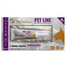 Петлайн Pet Line 1 капли для собак спот-он 30-40  кг 6,0мл*3шт Palladium