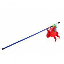 Удочка-дразнилка краб с перьями В026