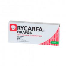 Рикарфа таблетки 20 мг со вкусом мяса №20 аналог Римадила KRKA