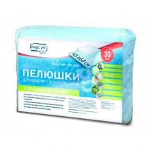 Пеленки №30 с древесным углем антибактериальные 45х60 10121