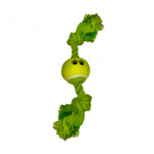 Игрушка для собак Грейфер с теннисным мячиком 2.5х32 см 004-RR