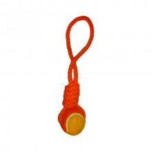Игрушка для собак Грейфер с теннисным мячиком 2.5х33 см 001-RR