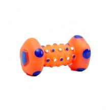 Игрушка длдя собак Гантель-булька 19 см FOX 726002