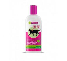 Шампунь фито шампунь-бальзам профилактический, витаминизированый для котов 200 мл Vitomax 11200