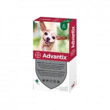 Адвантикс №4 до 4 кг капли противопаразитарные для собак Bayer - ИНСЕКТОАКАРИЦИДНЫЕ КАПЛИ