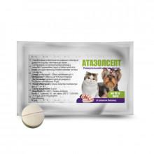 Атазолсепт №1 таблетки антигельминтные для собак на 10 кг Круг