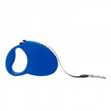 Поводок-рулетка FD808-3М синяя лента 3м*20 кг FOX FD808-3M Blue