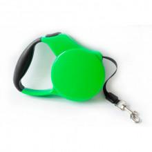 Поводок-рулетка FD706-3M зеленая лента 3м*20 кг FOX FD706-3M Green