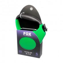 Поводок-рулетка FD706-3M зеленая лента 5м*25 кг FOX FD706-5M Green