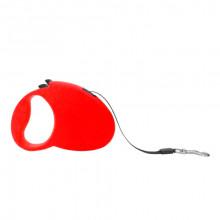 Поводок-рулетка FD808-3М красная лента 3м*20 кг FOX FD808-3M Red