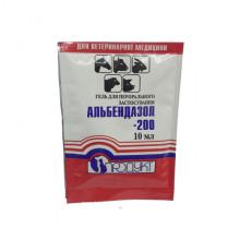 Альбендазол 200 гель 10 мл для сельскохозяйственных животных  Продукт