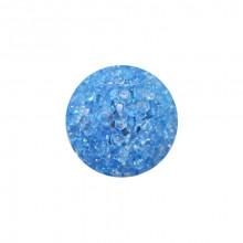 Игрушка для котов  мяч глицериновый голубой с бубенчиком 4 см FOX XWT001-2