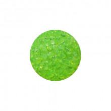 Игрушка для котов мяч глицериновый зеленый с бубенчиком 4 см FOX XWT001-5