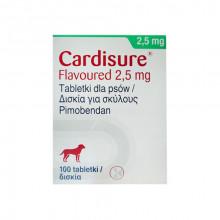 Кардишур 2,5 мг №100 таблеток Dechra - СИМПТОМАТИЧЕСКОЕ