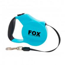 Поводок-рулетка FD706-5M синяя,лента 5м*20кг FOX/FD706-5M Blue