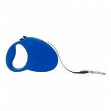 Поводок-рулетка FD808-5М синяя,лента 5м*25кг FOX/FD808-5M Blue
