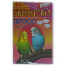 Корм для попугаев волнистых Зернятко 2 попугая 600г УП 12   5103