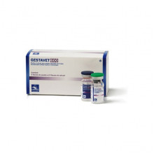 Геставет порошок разбавитель 1 доза во флаконе №10 штук в упаковке Hipra