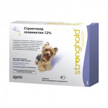 Стронгхолд (Stronghold) капли для собак от 2,6 до 5 кг от блох клещей  Zoetis Pfizer