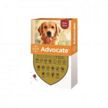 Адвокат №4 от 10 до 25 кг комплексные капли противопаразитарные для собак Bayer - ИНСЕКТОАКАРИЦИДНЫЕ КАПЛИ