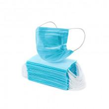 Маска лицевая медицинская 3 х слойная нестерильная с фильтрующим слоем упаковка 5 шт ПФКТ