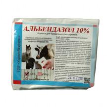 Альбендазол 10% 50 г порошок антигельминтный УКРВЕТБИОФАРМ