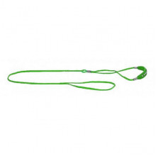 Ринговка Dog Extreme с кожаной накладкой 5мм длина 1,3 м зелёная COLLAR