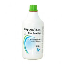 Байкокс 2,5% 1 л кокцидиостатик Bayer