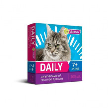 Втамины Витомакс Vitomax Деили Daily для котов от 7 лет 50 г
