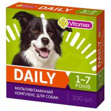 Втамины Витомакс Vitomax Деили Daily для собак 1-7 лет 100 г