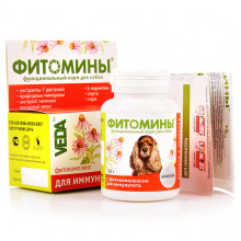 Фитомины Иммунитет № 40 для собак Веда