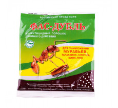 Фас дубль средство от тараканов и муравьев 125 гр