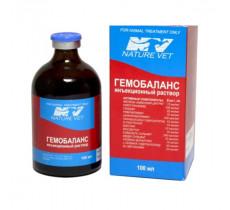 Гемобаланс инъекции витаминов для животных и птиц 100 мл Nature Vet